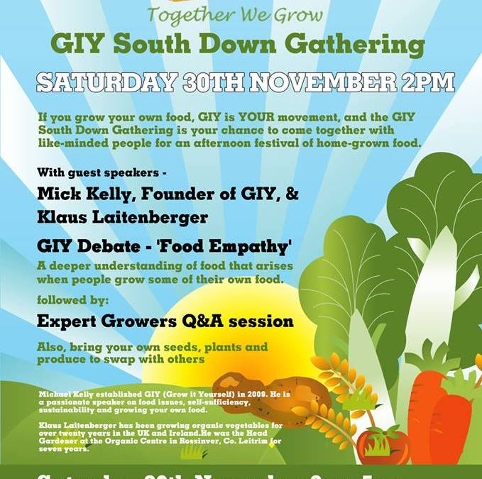 Come to the South Down GIY Gathering