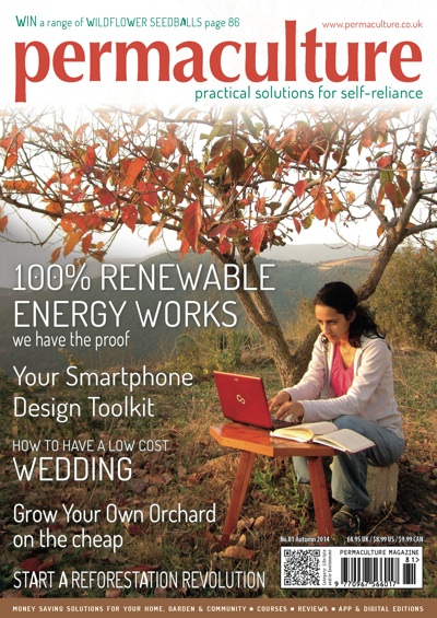 We're in Permaculture Magazine!