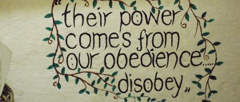 Their power comes from our obedience