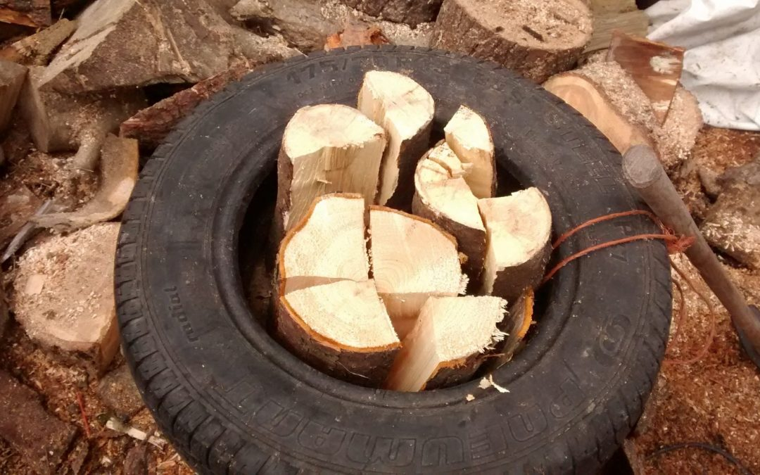 Simple tips for easy firewood processing