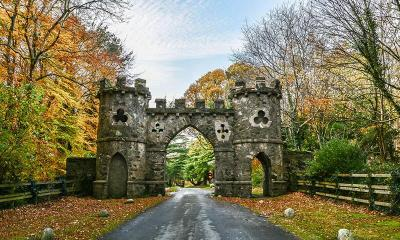 Tollymore Forest Park gate used in Game of Thrones