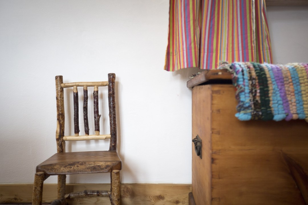 Many of the things in the cottage are handmade by ourselves, friends or local crafts people