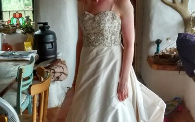 Wedding dress seeks bride to be
