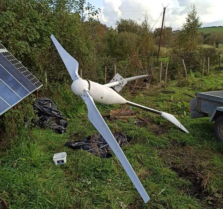 Wind turbine upgrade