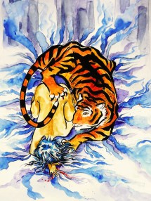 Hairless Baby Tiger