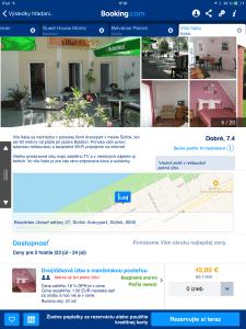 Booking - informácie o hoteli