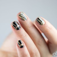 Silvester Nails | Stickergigant Goldener Gatsby
