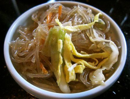 Fideos transparentes con verduras  La cocina de Bender