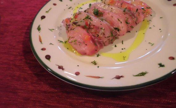 Receta Ceviche de mojarra con moras