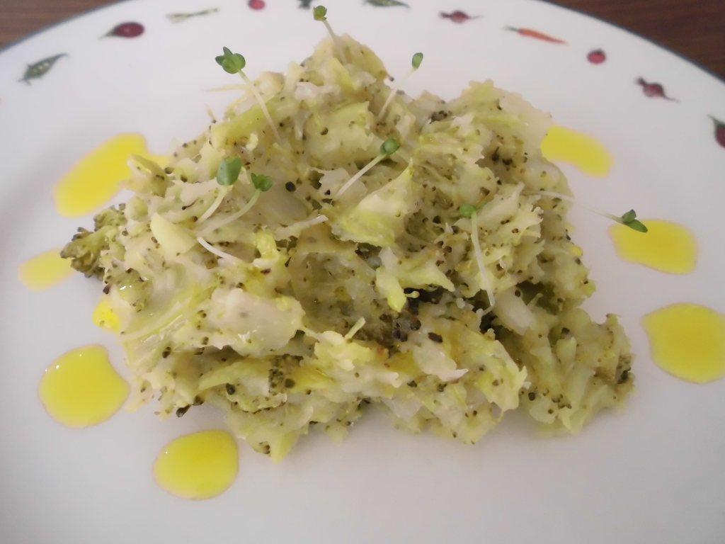 Receta Puré de Brócoli, puerro y papas