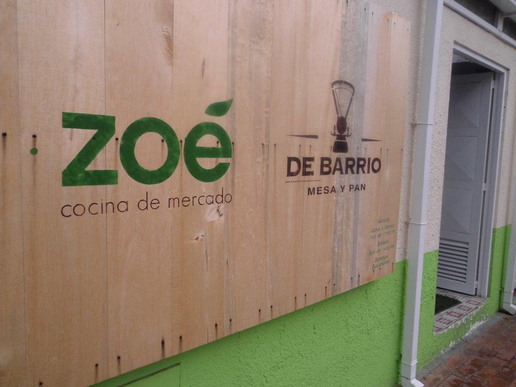 Restaurante Zoe Cocina de Mercado