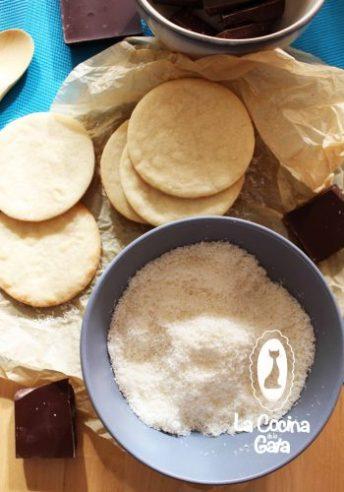 Coco rallado para decorar nuestras galletas
