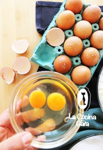Huevos frescos para batir