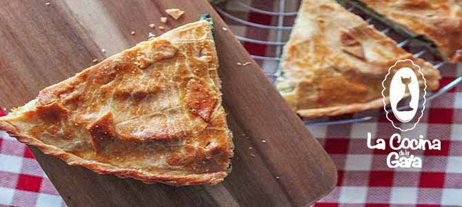Pastel de Espinacas y Queso de Cabra (con Masa Brise sin lactosa)
