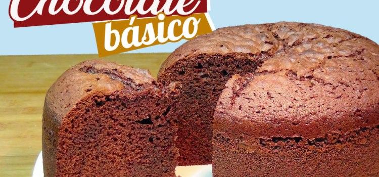 Bizcocho de chocolate básico – Jugoso, esponjoso y delicioso