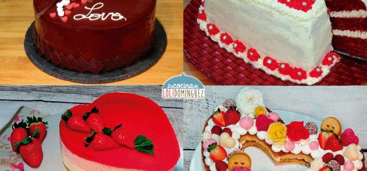 Las 4 mejores tartas para San Valentín – ¡Súper deliciosas!
