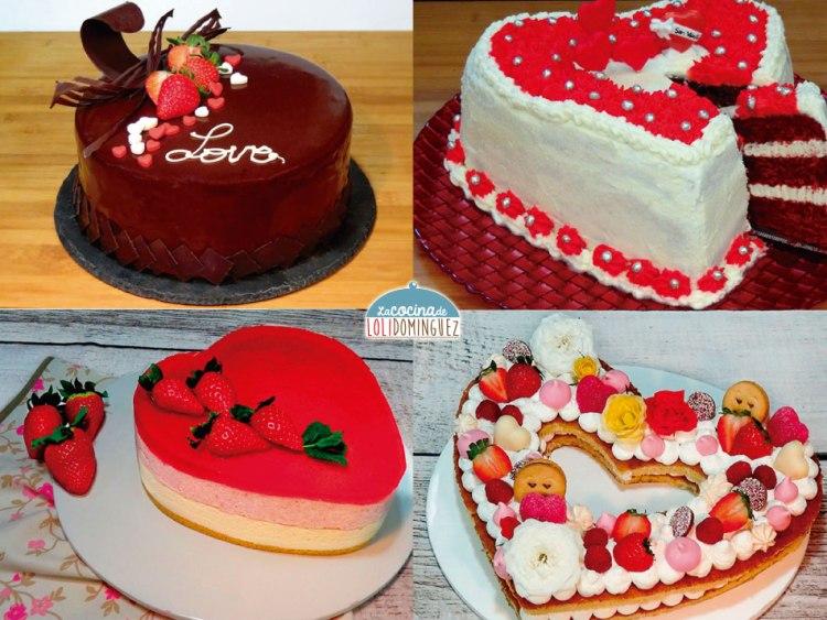 Las 4 mejores tartas para San Valentín - ¡Súper deliciosas!