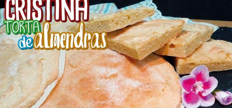 Coca Cristina (Torta de almendra) – Receta tradicional Valenciana