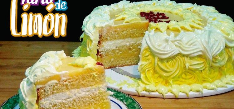 Riquísima Tarta de limón - Especial Día de La Madre