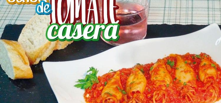 Calamares o chipirones en salsa casera de tomate ¡Muy Fácil!