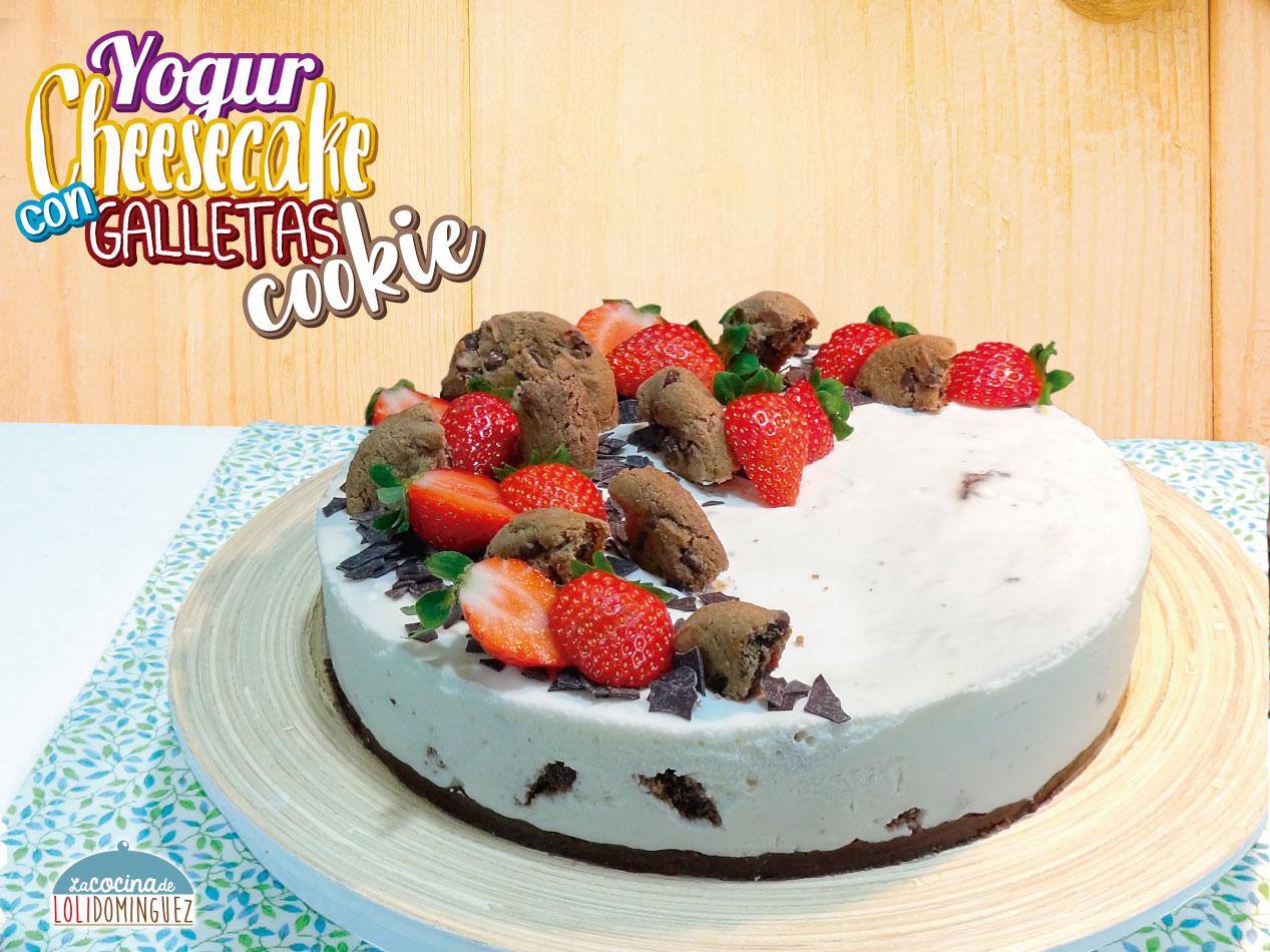 tarta de queso fria con yogurt natural