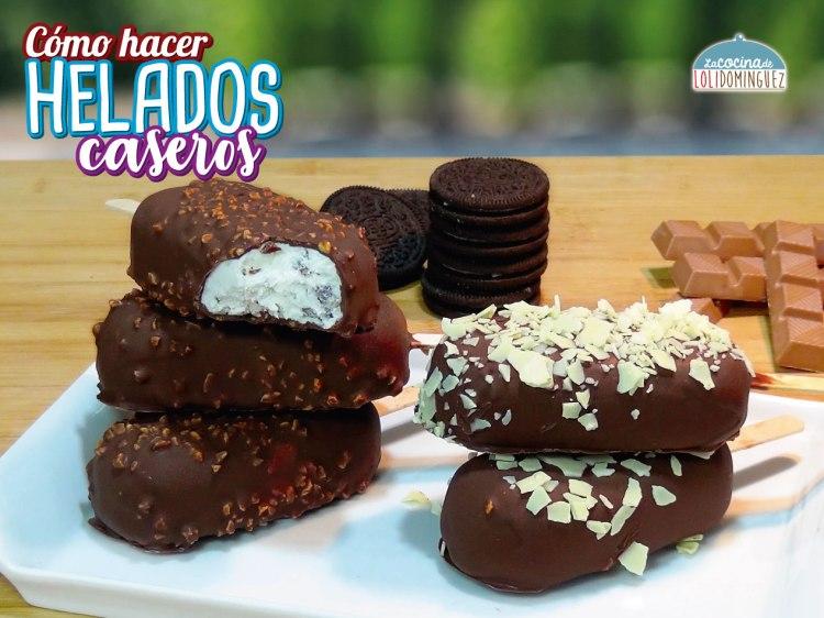 COMO HACER HELADOS MAGNUM CASEROS MUY FACILES