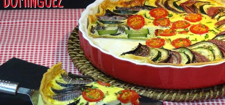 DELICIOSA Tarta de verduras al horno SUPER FACIL.