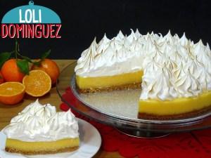 Tarta de mandarina y merengue suizo (Orange pie) Mi receta nº 500 me hace especialmente feliz traeros esta receta que además de estar deliciosa y muy fácil