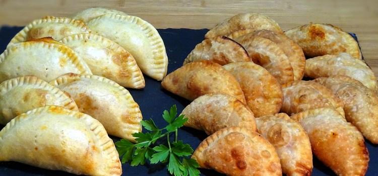 Masa casera de empanadillas para freír u hornear, una receta muy fácil y versátil