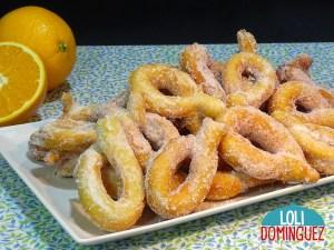 ROSQUILLAS DE NARANJA Y QUESO RECETA MUY FÁCIL, Rosquillas de naranja y queso diferentes y deliciosas