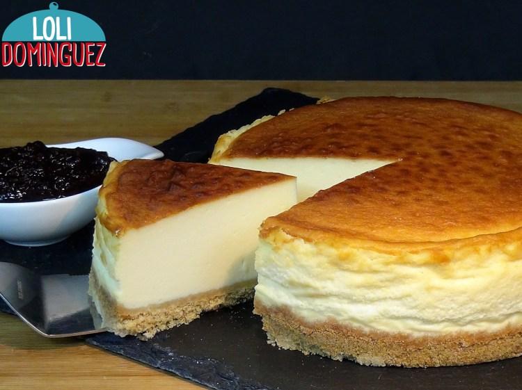 Tarta de queso New York cheesecake, con trucos para que te quede perfecta. Cómo hacer la New York Cheesecake, la tarta de queso por excelencia
