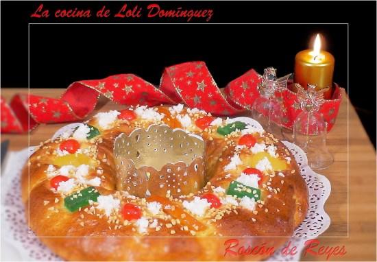Receta Roscón de Reyes tradicional