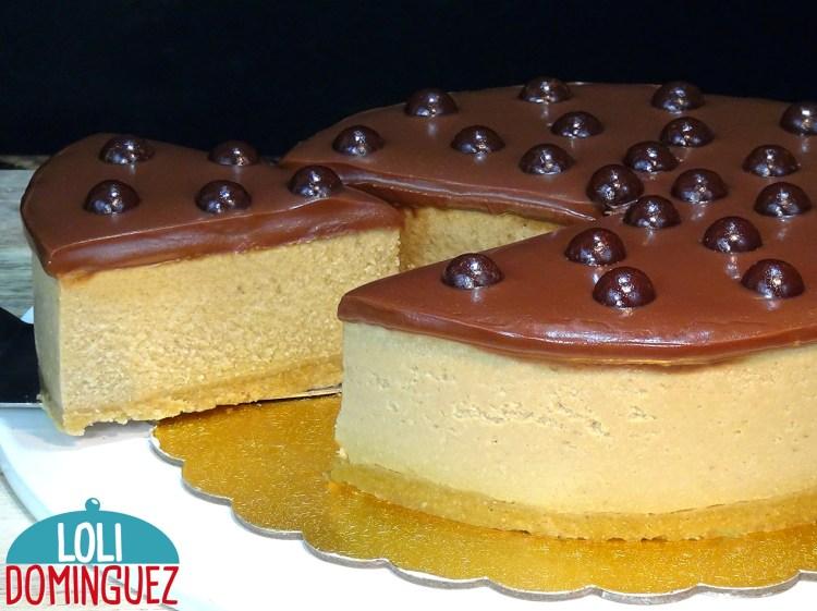 TARTA DE CAFÉ Y CHOCOLATE, FÁCIL Y SIN HORNO. Una tarta fácil y deliciosa que con ingredientes de poco costo vamos a disfrutar de una tarta irresistible como postre de una comida o cena con familia o amigos