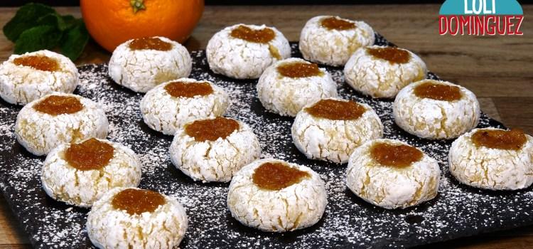 GALLETAS DE ALMENDRA A LA NARANJA (AMARETTI ALL'ARANCIA). Son unas galletas típicas de Italia que se asemejan mucho al mazapán, muy fáciles y rápidas de hacer y muy ricas de comer, tan ricas que te aseguro que las aras más de una vez, quedan unas galletas o dulces tiernos por dentro y ligeramente crujientes por fuera