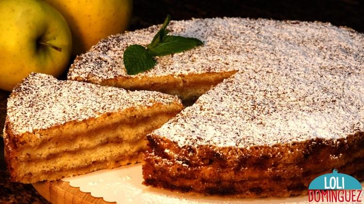 TARTA DE MANZANA SIN HUEVO O TARTA DE MANZANA DE LAS TRES TAZAS. Parece cosa de magia, tan fácil y con estos ingredientes no creerás que pueda quedar una tarta jugosa y que conserve la forma cuando la estés preparando.