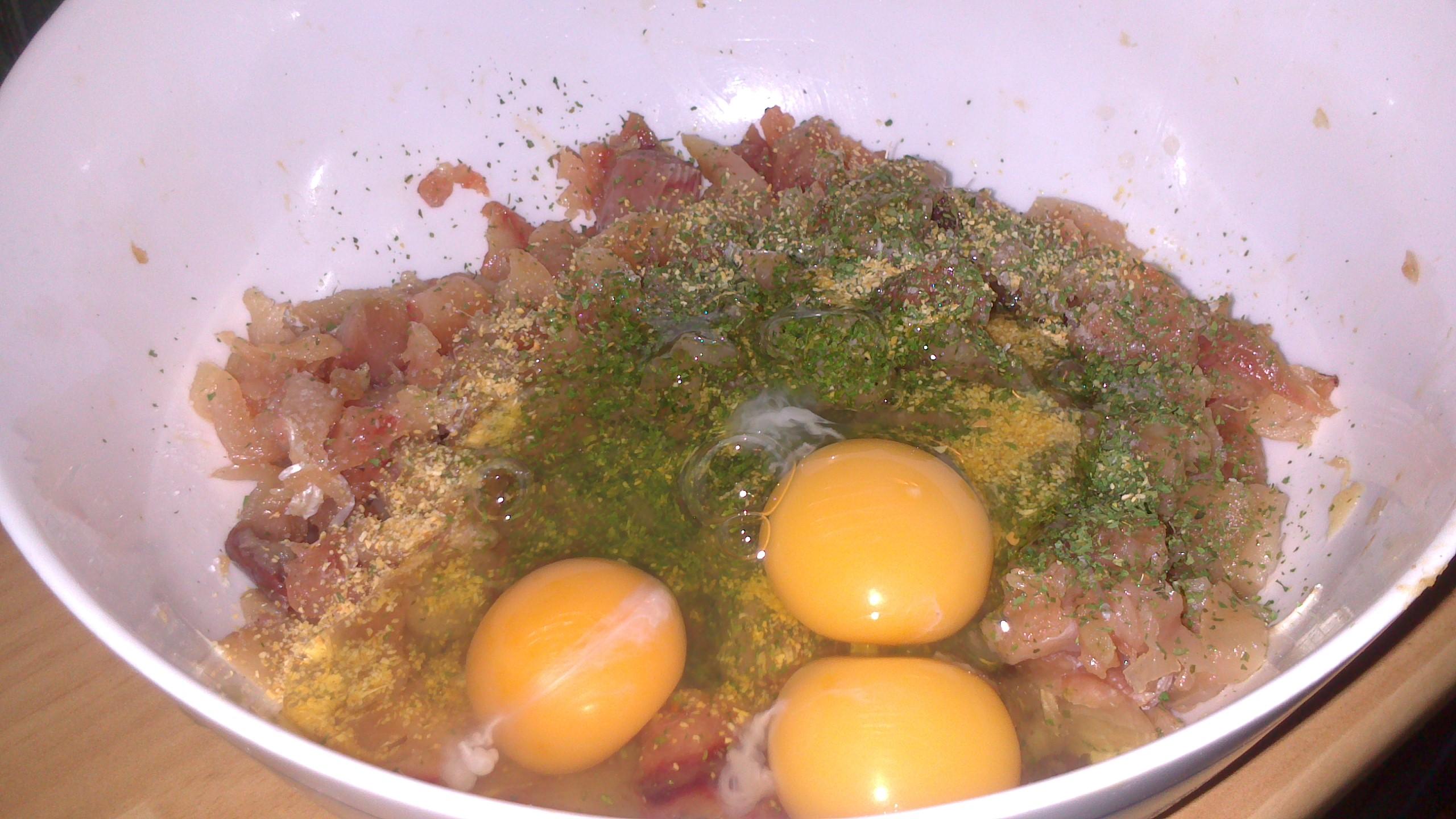 Albndigas de atn en salsa  La cocina de mi infancia
