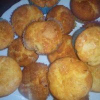 'Magdalenas de nata y mantequilla'