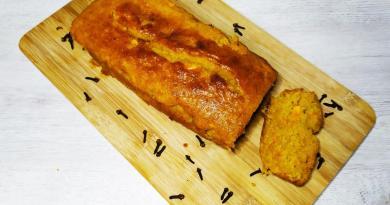 bizcocho de boniato (batata ) sin gluten