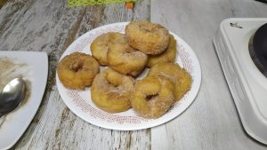 rosquillas de anís fritas sin gluten