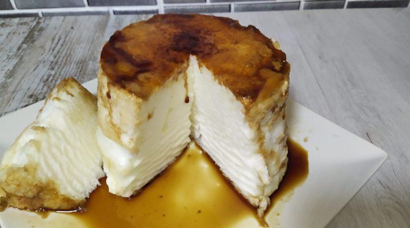 Pastel de caramelo con dos ingredientes