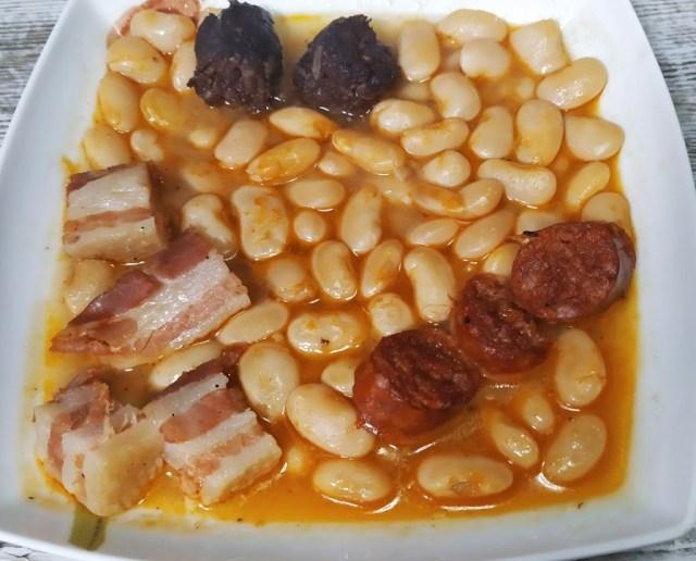 fabada asturiana en olla gm h