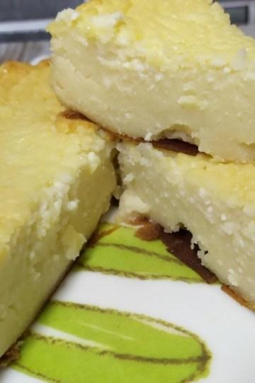 tarta de requeson / tarta de ricota