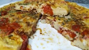 receta de tortilla de tomates
