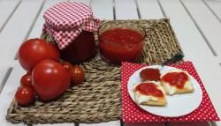 mermelada de tomate en robot de cocina mambo y de manera tradicional