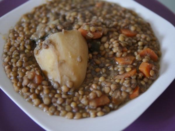 Lentejas con verduras la cocina de tendencias for Cocinar lentejas con verduras