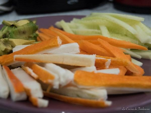 receta de sushi casero