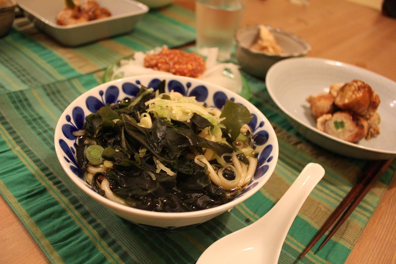 Udon de wakame es solo echando todos en una olla  Recetas japonesas en la cocina de Tomoko