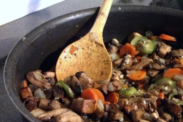 ingredientes moussaka vegetariana