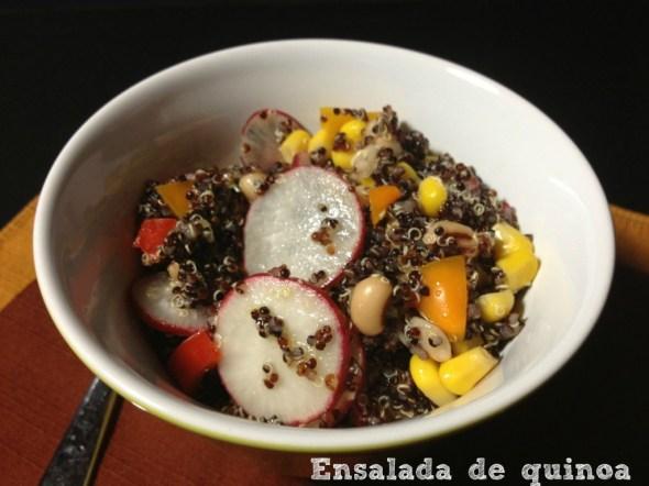 Ensalada de quinoa - La cocina de Vero