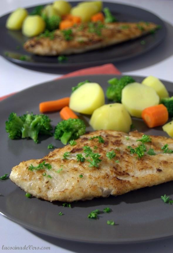 Pescado rebozado saludable